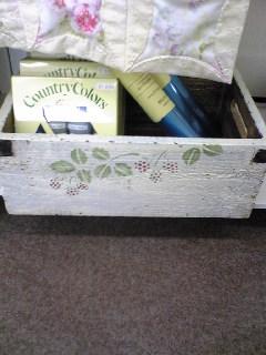 イージーキルトさんの木箱