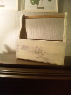 個人出品の木の雑貨